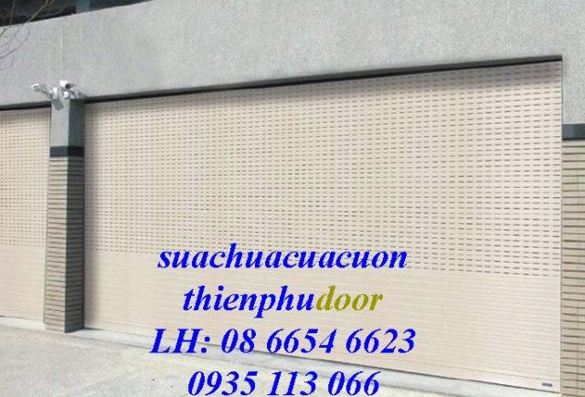 Lắp đặt cửa cuốn quận Bình Thạnh