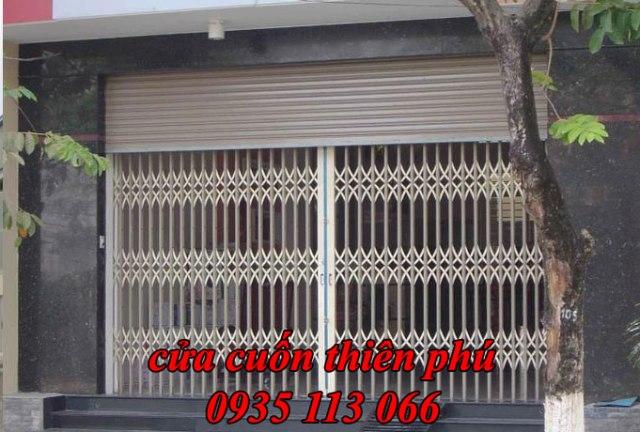 Cửa cuốn quận Tân Phú